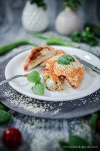 Mini Veggie Calzone vom Grill