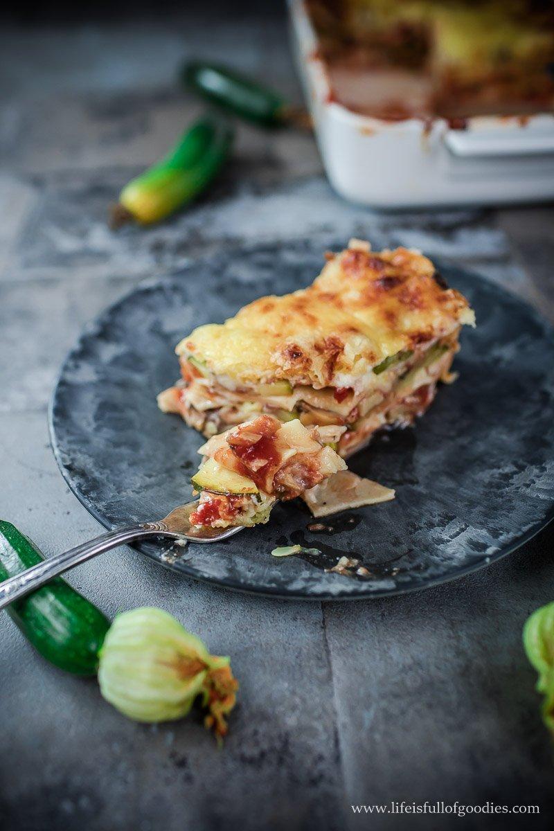 Zucchini Lasagne - vegetarisch