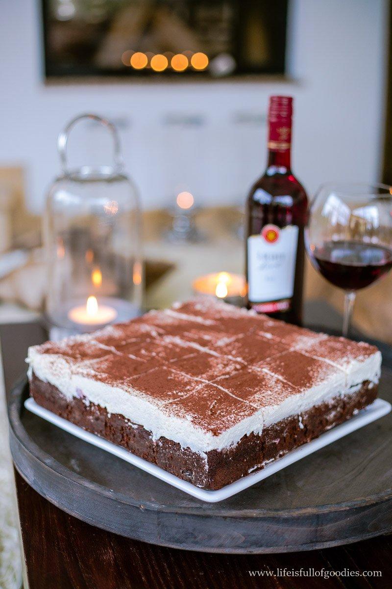 Saftiger Extrem Schokoladiger Rotwein Kuchen Mit Kirschen Life