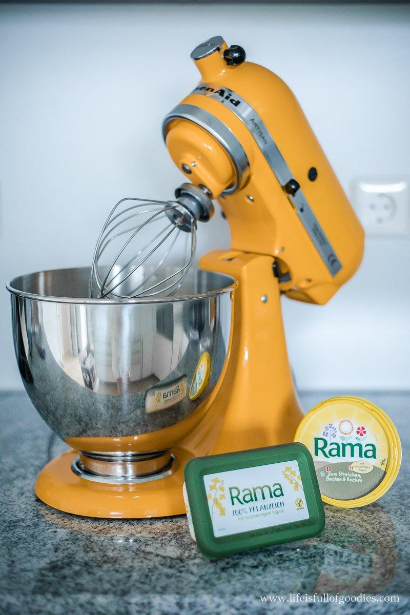 Gewinnt mit Rama 3 KitchenAid Artisan Küchenmaschinen!