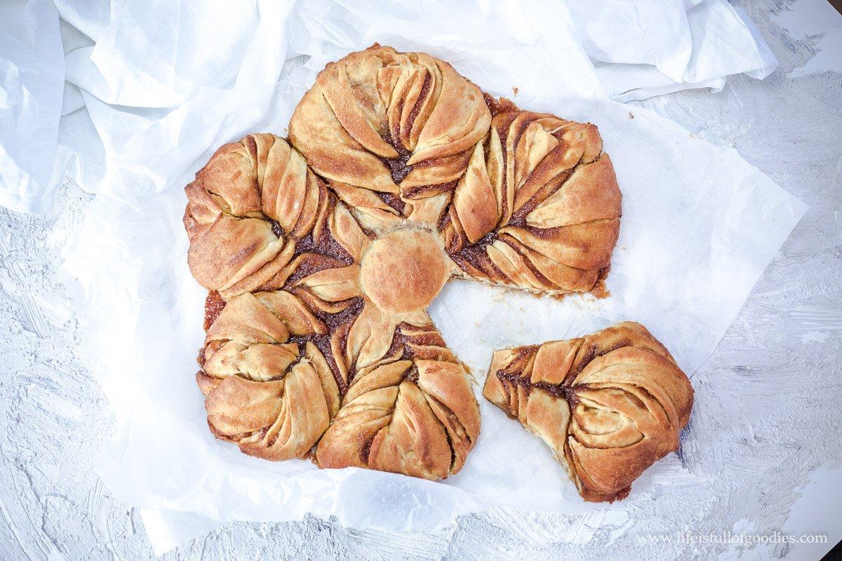 Bratapfelsonne - aus Hefeteig mit saftiger Füllung