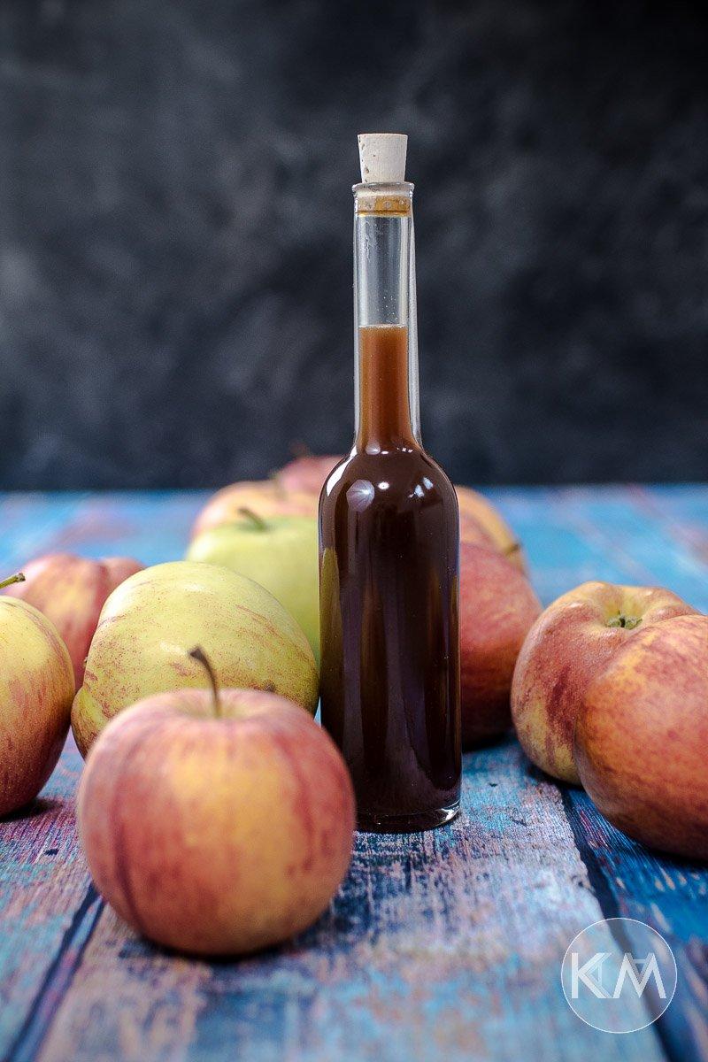 Selbst gemachter Apfeldicksaft - ein toller Zuckerersatz