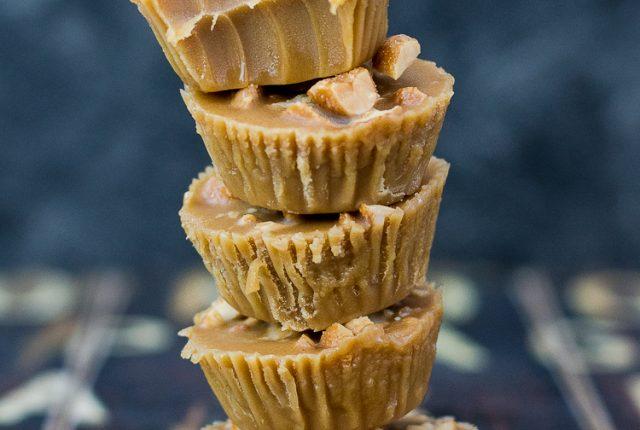 Erdnuss Karamell Fudge in gesünderer Form