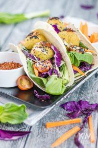 Falafel aus dem Ofen – Kichererbsenbällchen