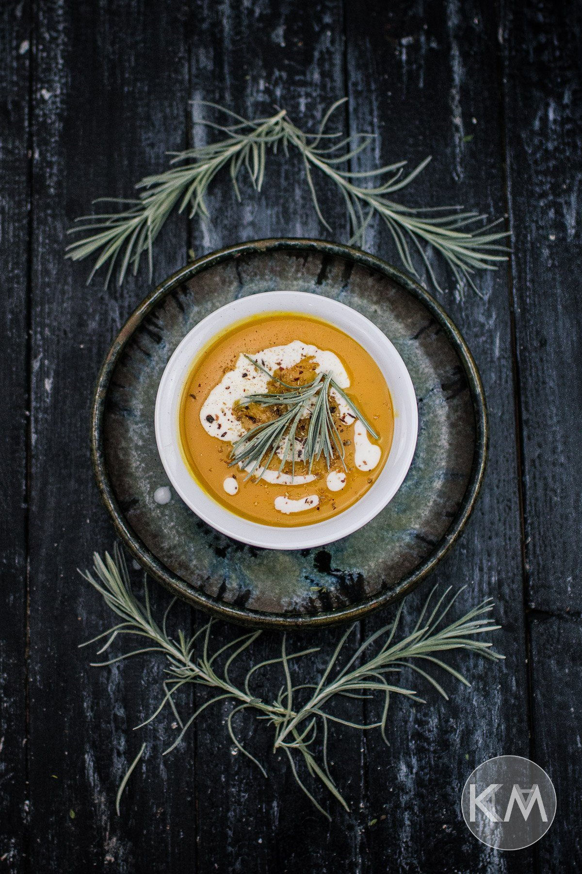 Karotten-Kartoffelsuppe