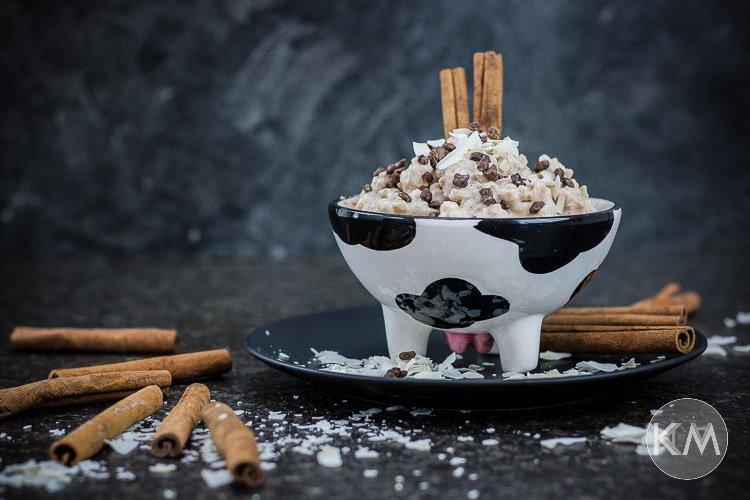 Kokos-Zimt-Milchreis