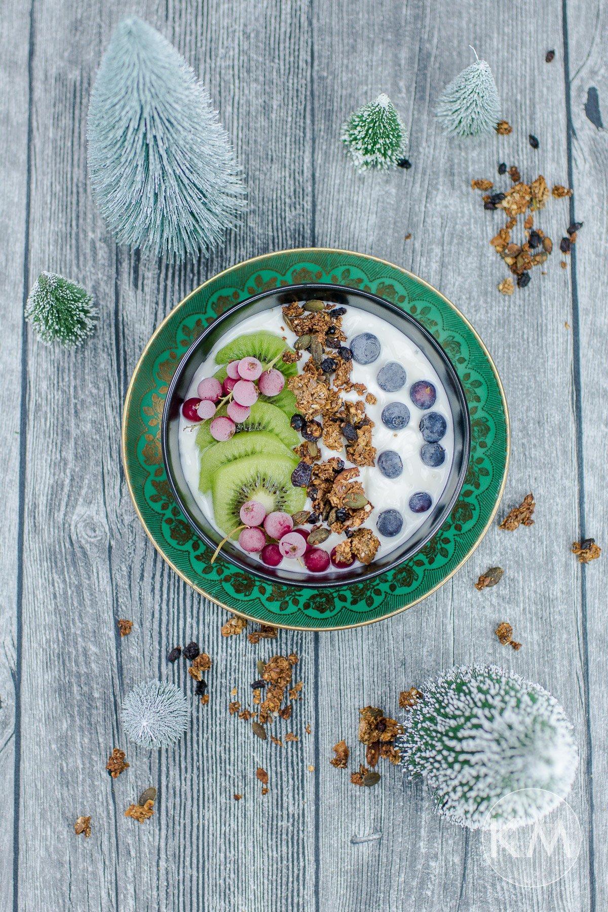 Superfood Granola - ohne Raffinadezucker