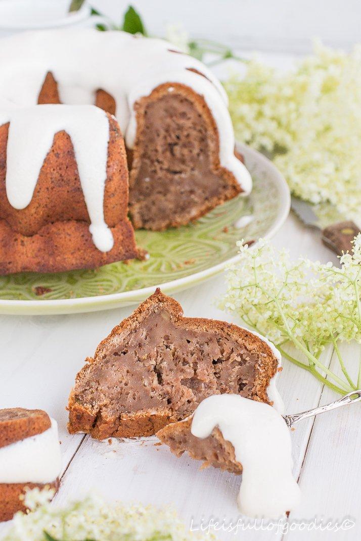 Birnen-Frühstückskuchen