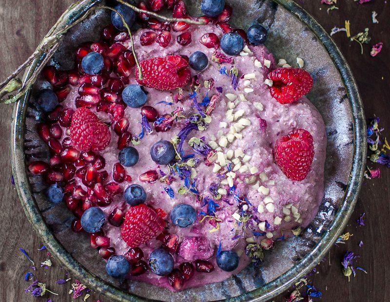 Overnight Berry Oats – cremig, fruchtig und gesund zugleich