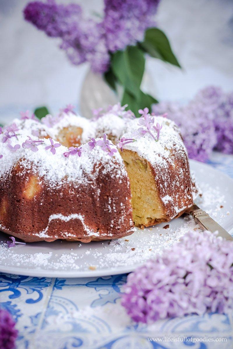 Kuchen rabarba Rhubarb Sheet