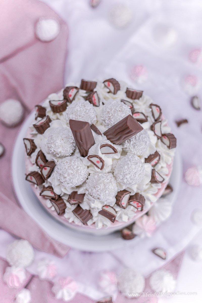 Raffaello-Yogurette-Eistörtchen