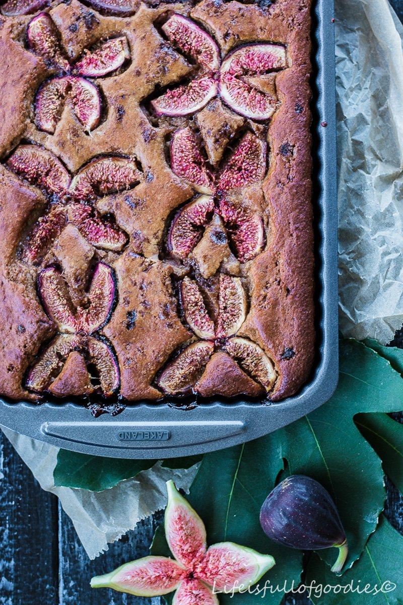 Feigenkuchen in gesunder Variante