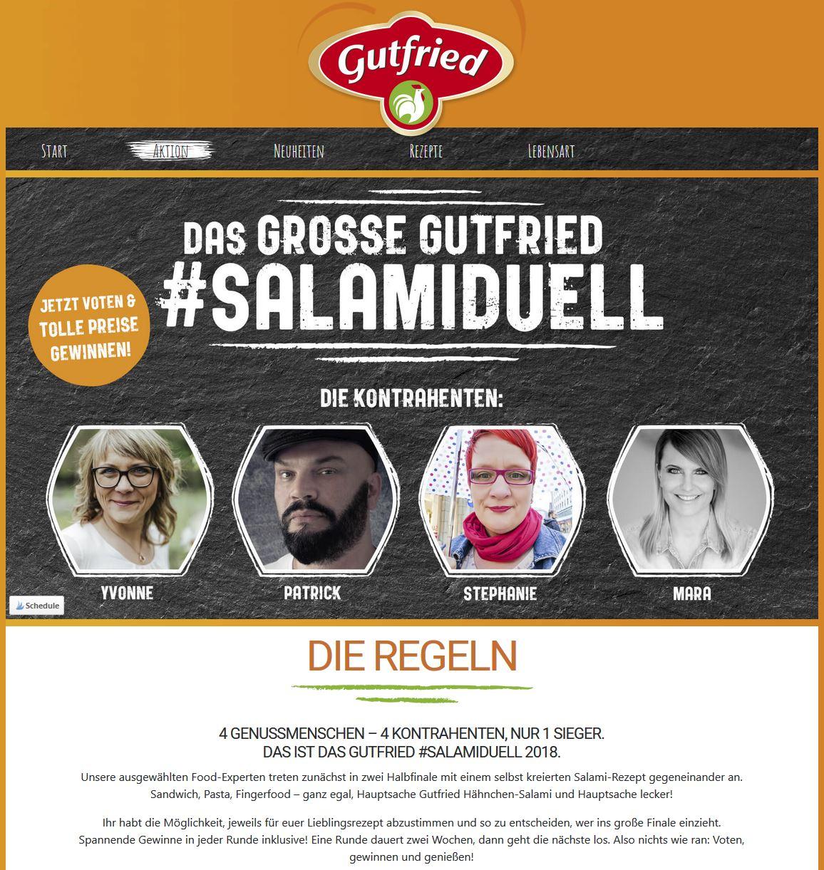 Gutfried Salami Duell