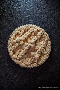 Buttrige Apfeltarte mit einem Hauch Zimt