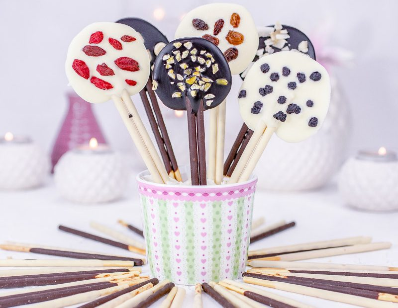 Mikado Schoko Lollies