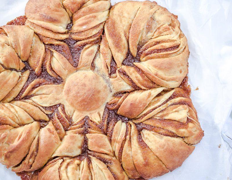 Bratapfelsonne – aus Hefeteig mit saftiger Füllung