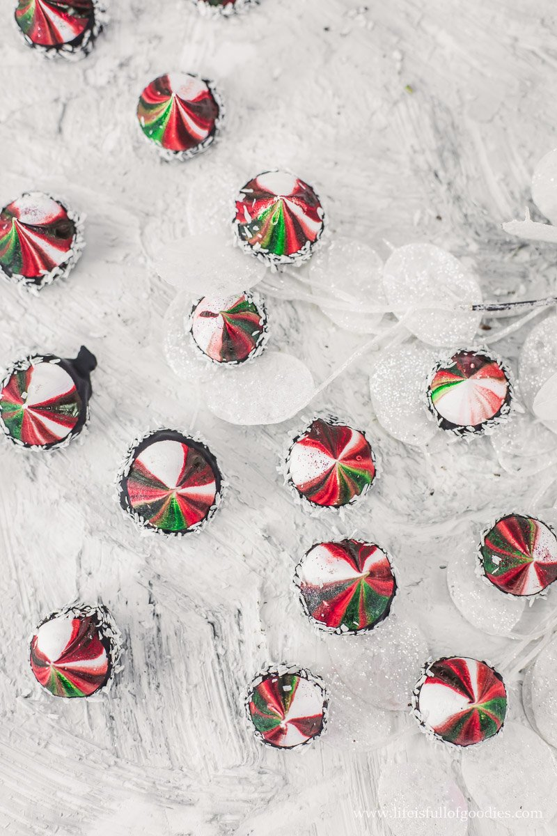 Weihnachtsbaisers - oder auch Baiserküsschen genannt