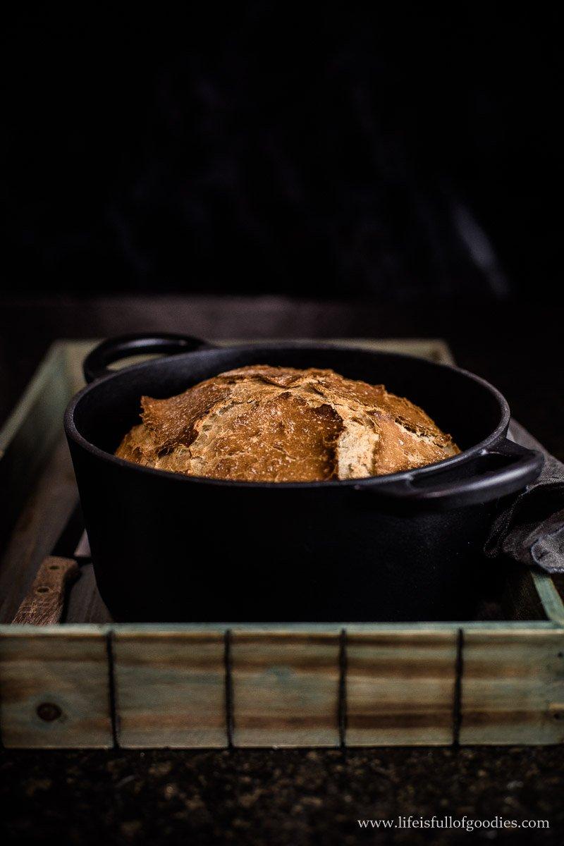 Topfbrot - ein super einfaches Rezept