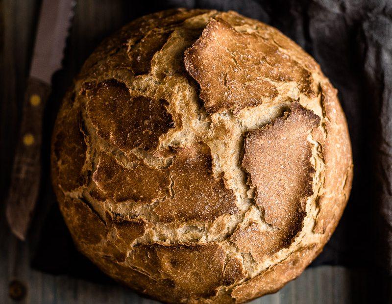 Topfbrot – ein super einfaches Rezept aus Hefeteig