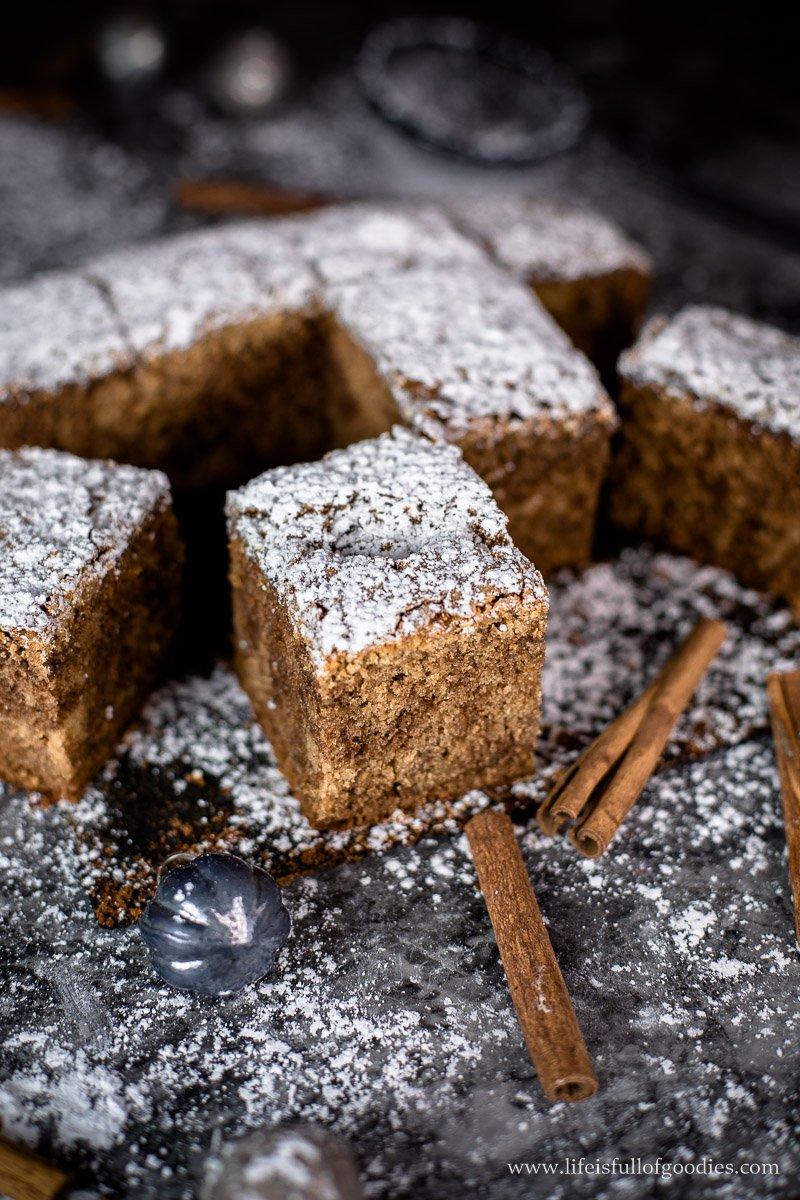 Marmorierter Zimt-Nutella-Kuchen
