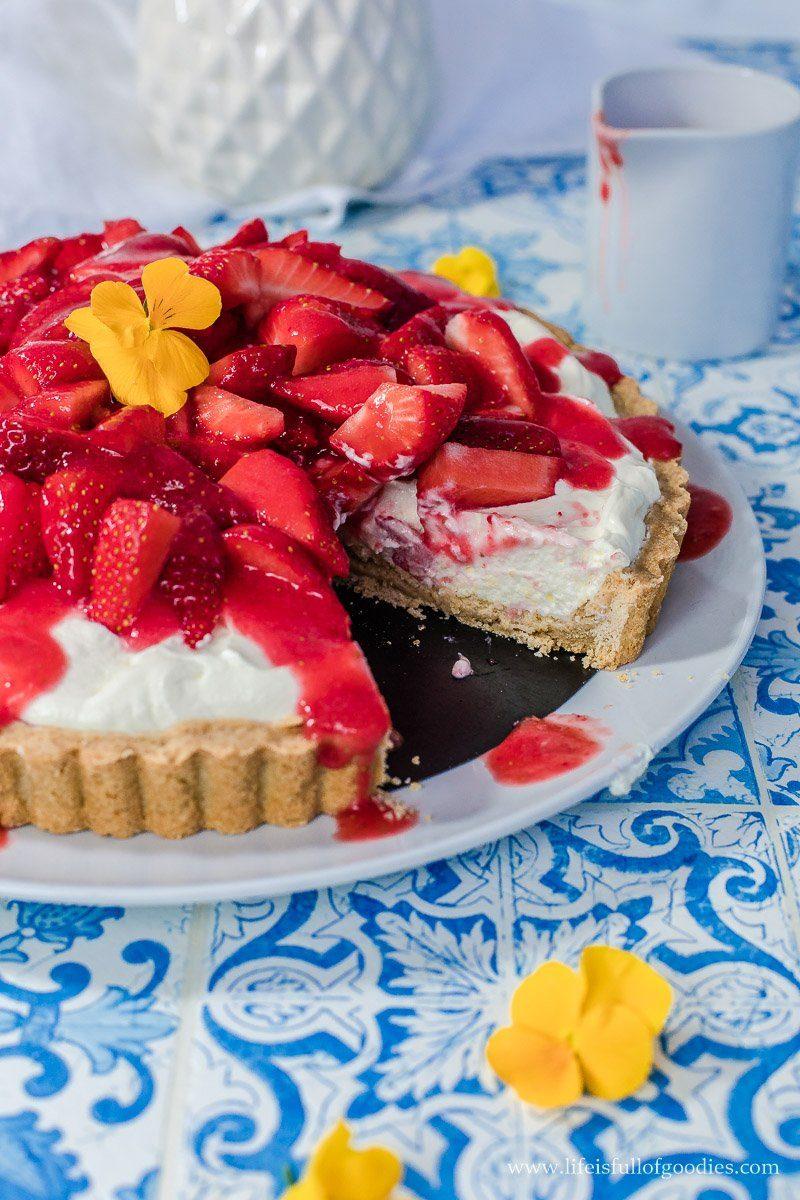Erdbeer Creme Tarte