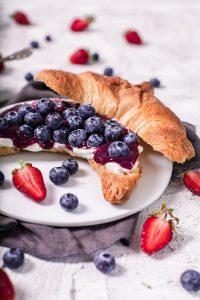Blaubeer Erdbeer Marmelade