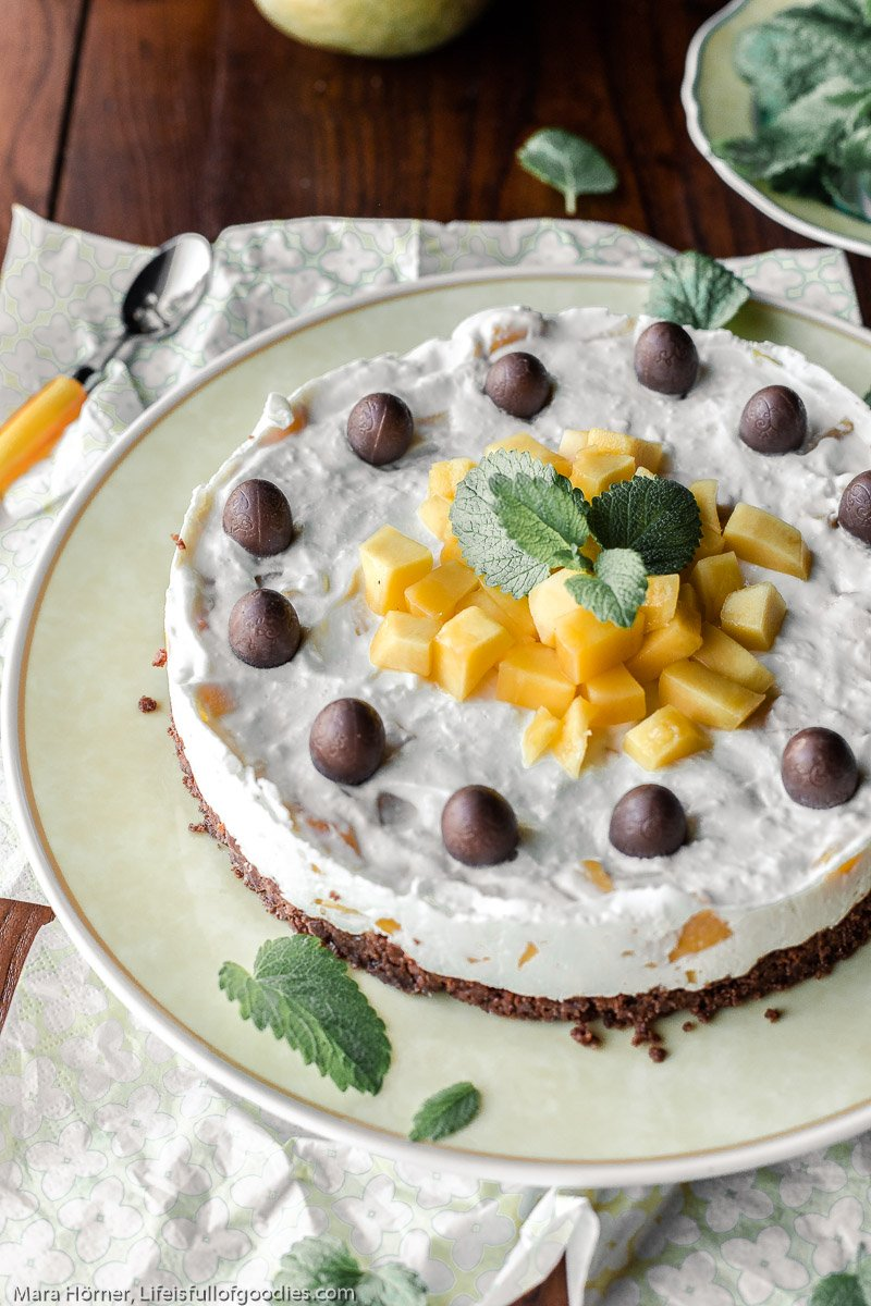 Mango Frischkäsetorte - ohne Mehl
