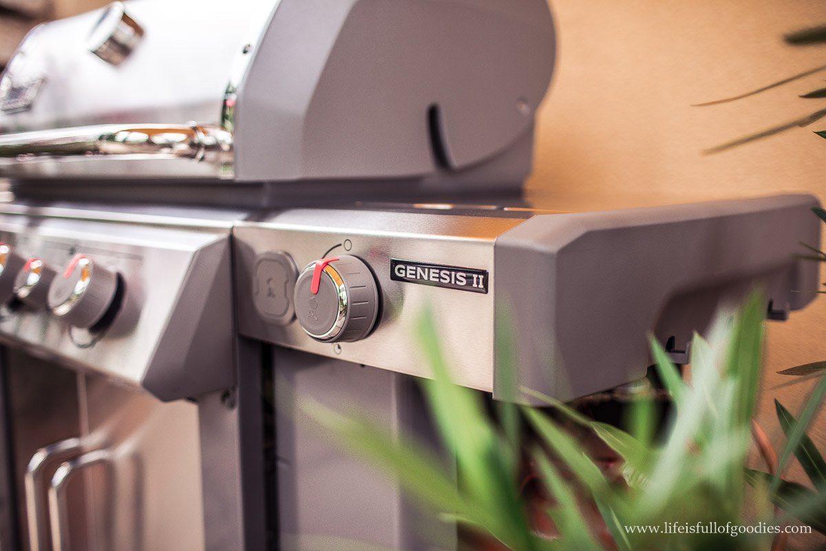 Ein neuer Grill zieht ein - der Weber Genesis® II SP-335 GBS