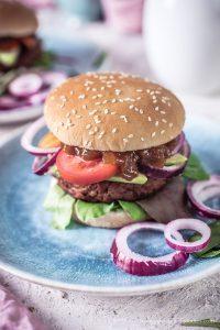 Mango Chutney zum veganen Burger und ein Weihnachtsevent
