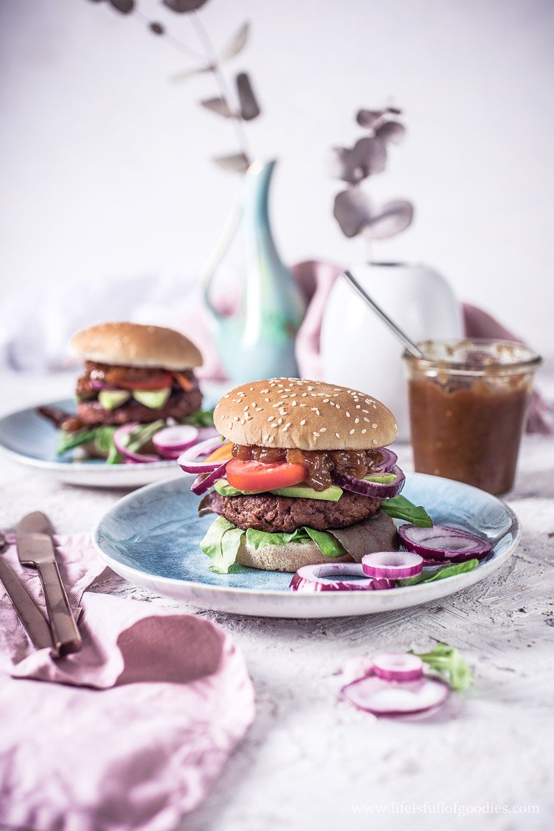 Mango Chutney zum veganen Burger