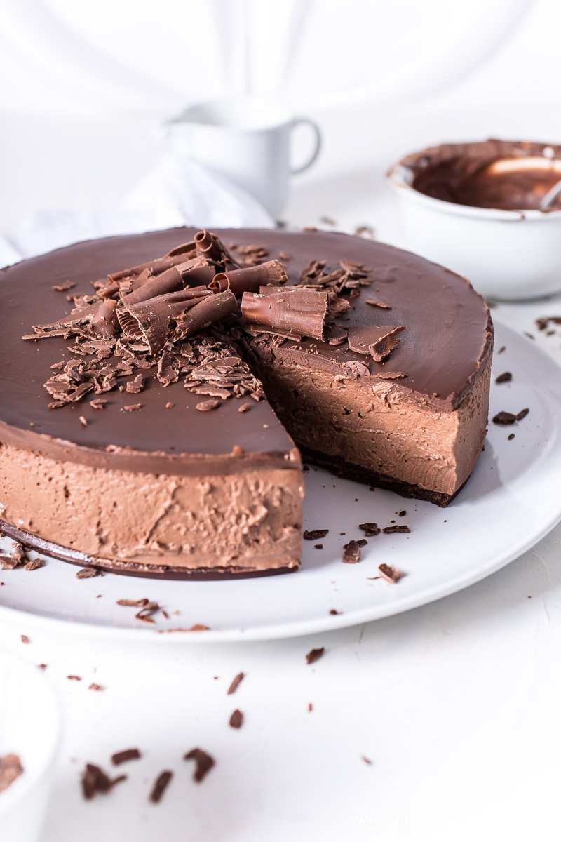 Chocolate Cheesecake ohne Backen