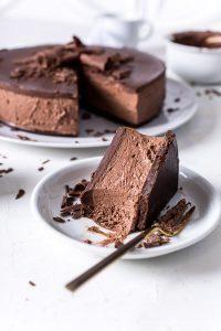 Chocolate Cheesecake ohne Backen – eine unverschämte Schokobombe!