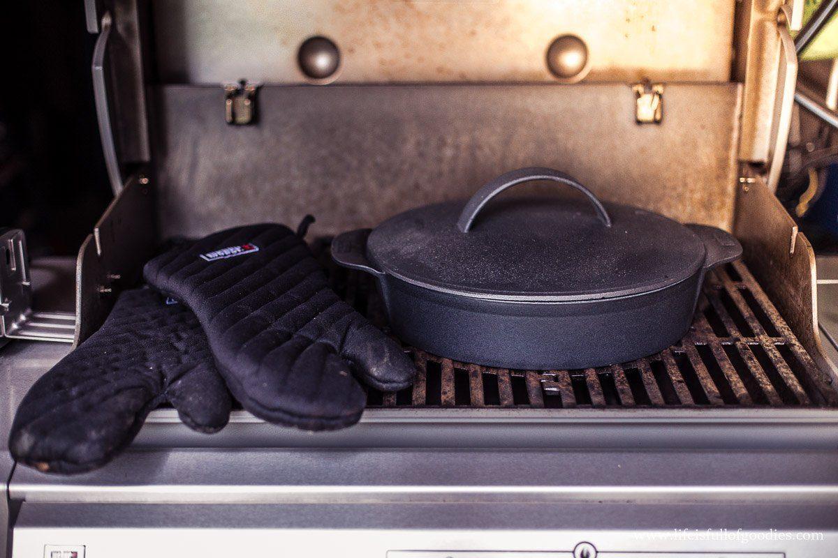Kartoffelbrot - im Grill gebacken