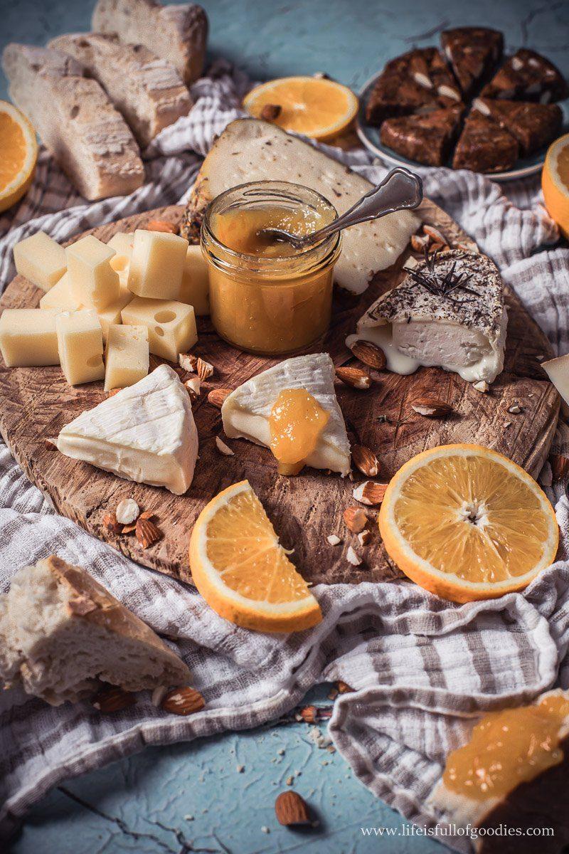 Orangen Senf Marmelade