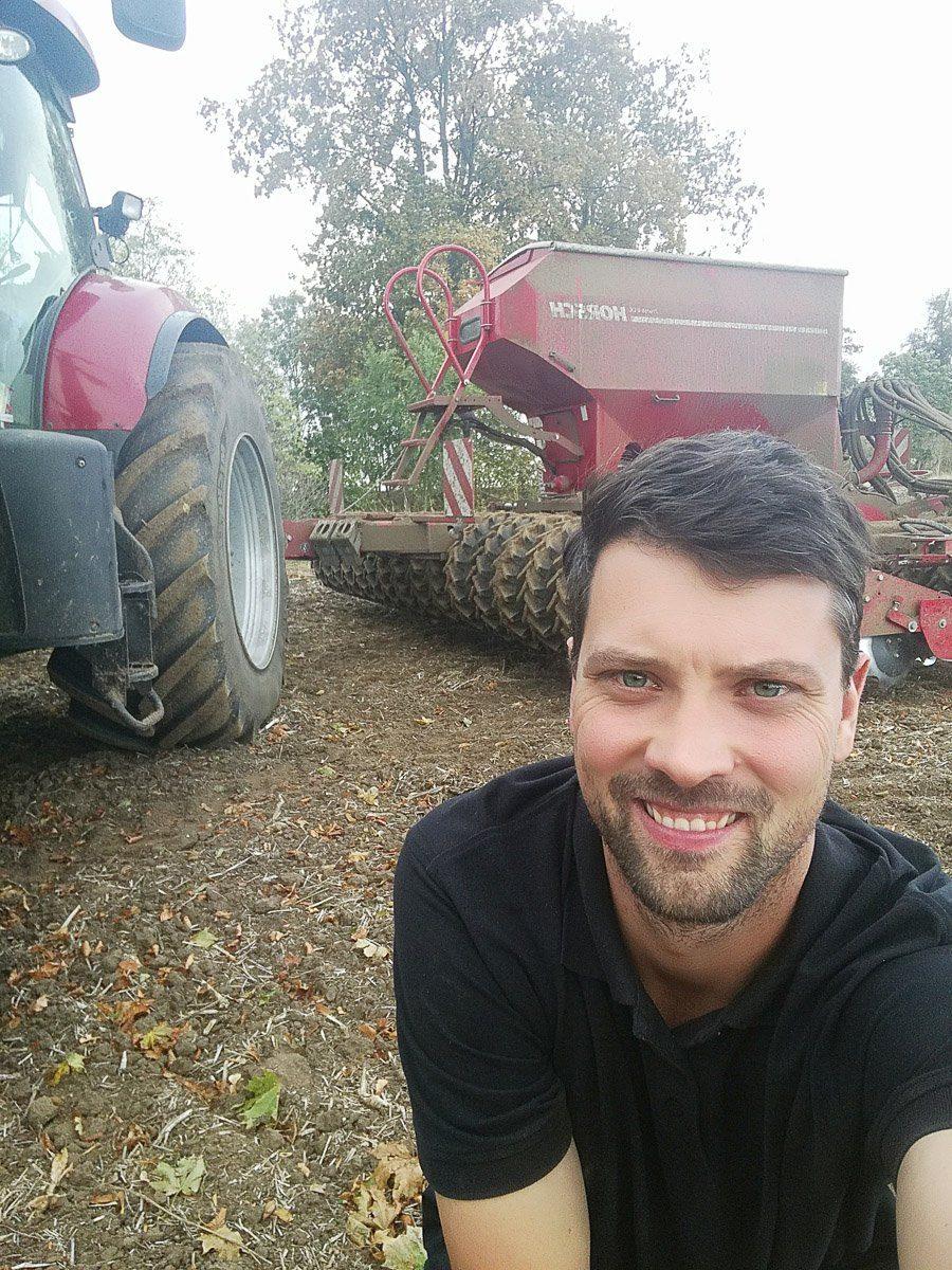 Moderne Landwirtschaft hautnah - ein Interview mit Phillip Krainbring