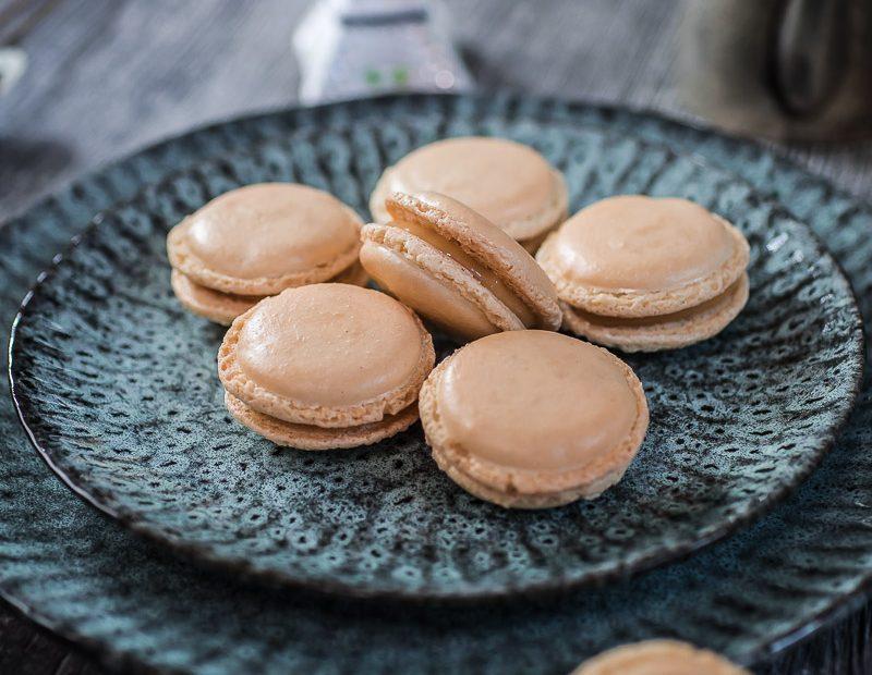 Macarons mit salzigem Karamell und ein bevorstehendes Event in Paris