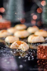Aprikosenküsse – Plätzchen mit Aprikosenmarmelade