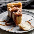 Französischer Puddingkuchen mit Salzkaramell