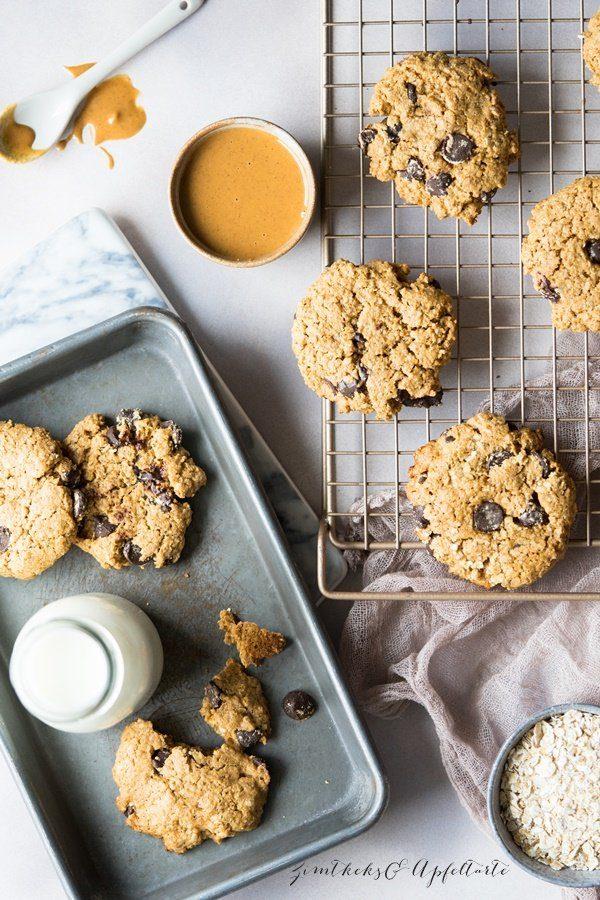 "Erdnussbutter-Schoko-Cookies von ""Zimtkeks und Apfeltarte"""