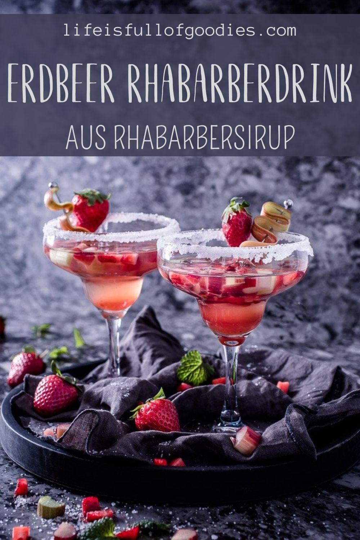 ERDBEER RHABARBER DRINK