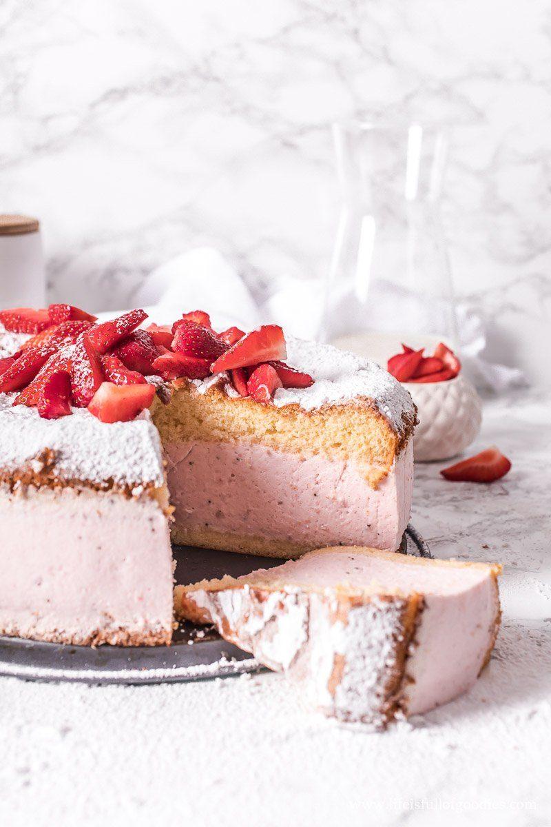 Erdbeer Käsesahne Torte