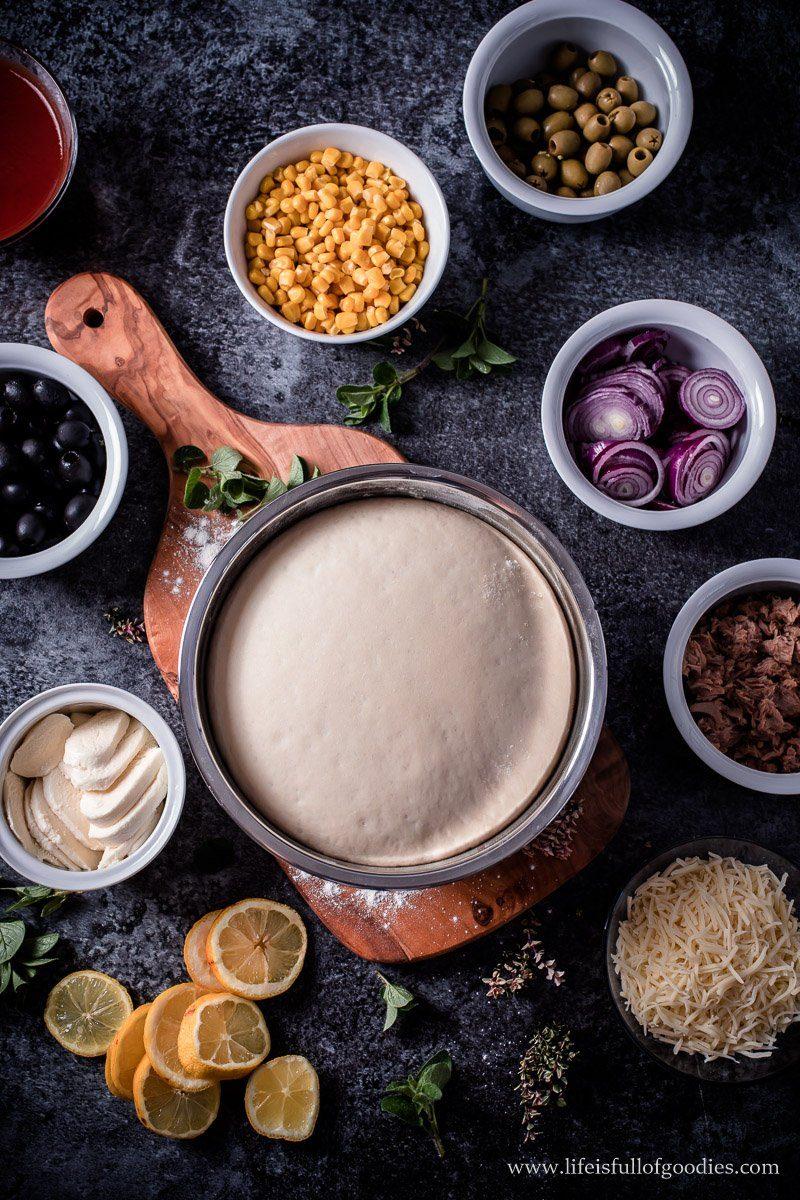 Pizzateig - ein Grundrezept und eine Thunfischpizza