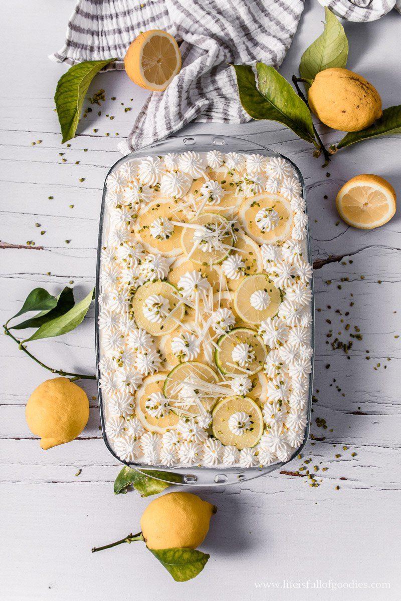 Zitronen Tiramisu