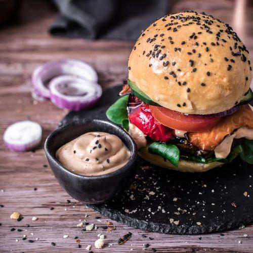 Senfsauce - schmeckt zum Burger, zu Kartoffeln, Pommes oder Gemüse