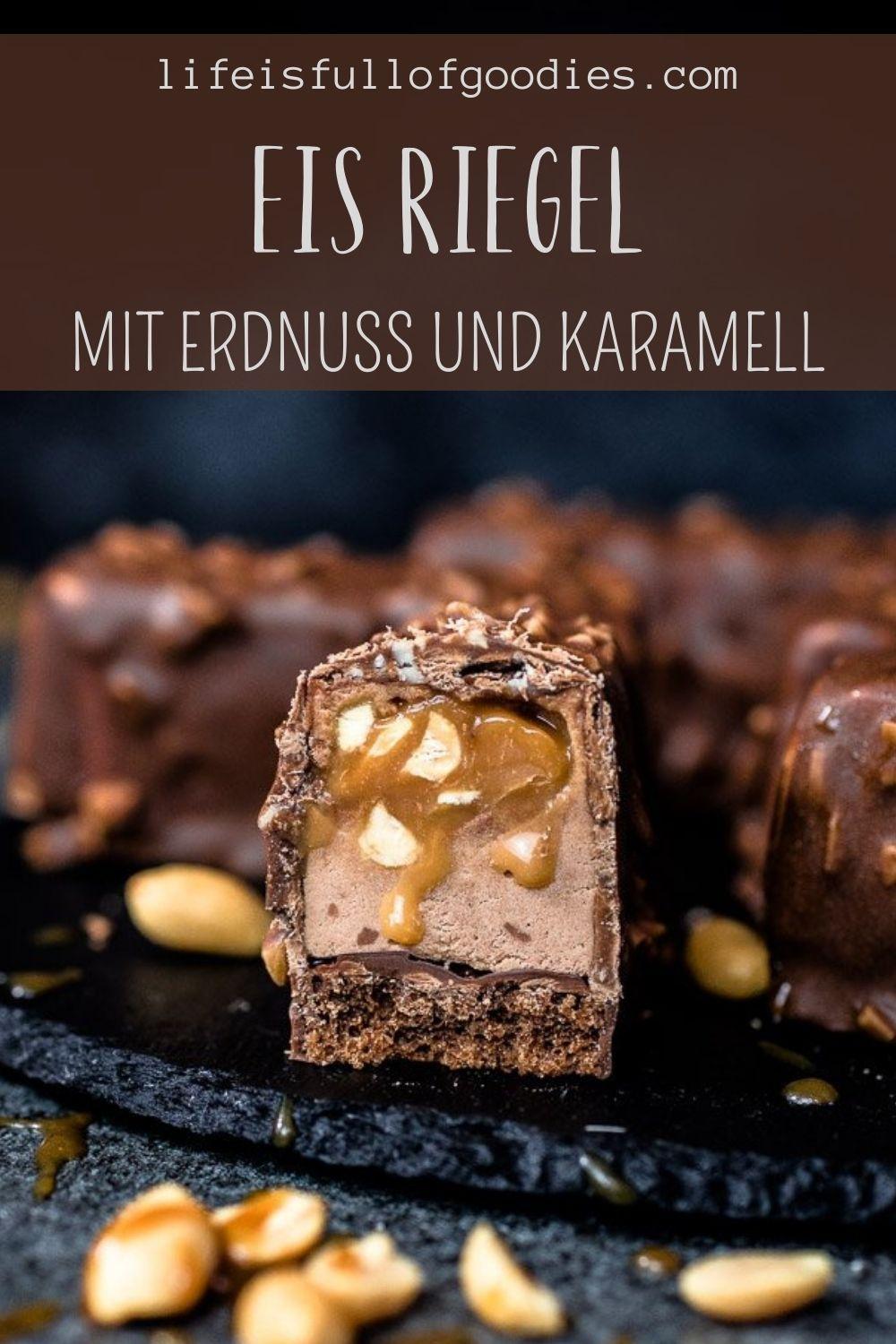 ERDNUSS KARAMELL EIS RIEGEL