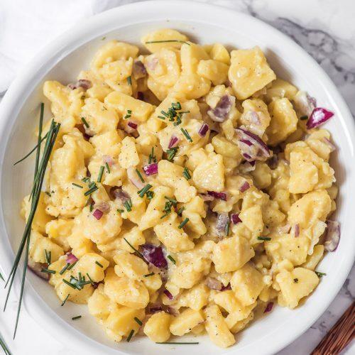 Kartoffelsalat - ganz schlicht und einfach badisch