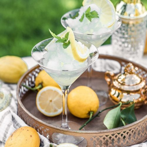 Zitronen Granita