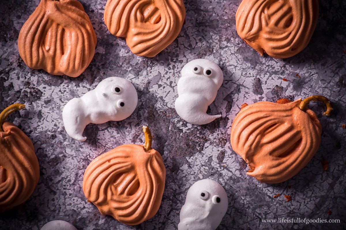 Halloween Baisers - ganz einfach und super für Kids