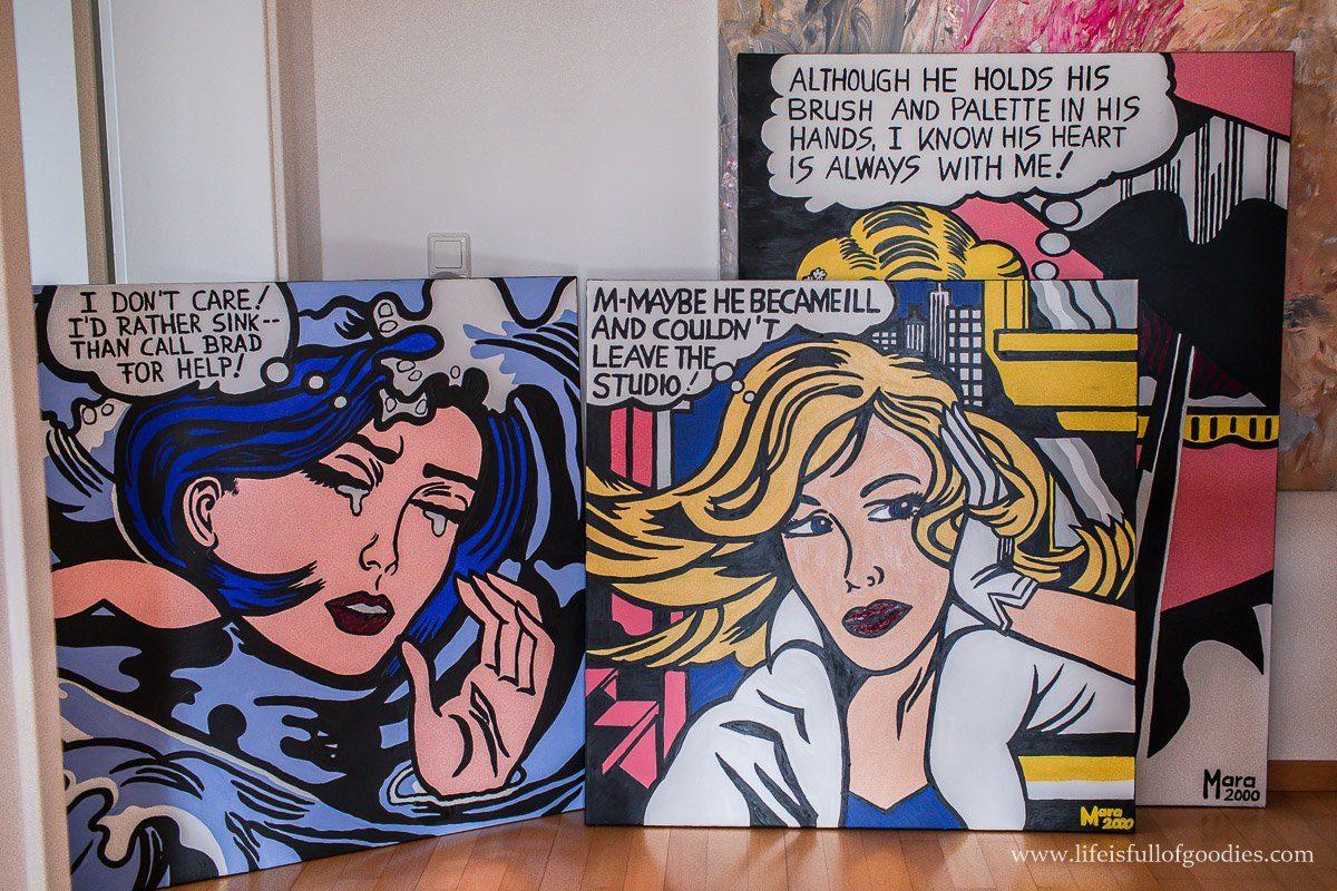 Kunst bei uns zuhause