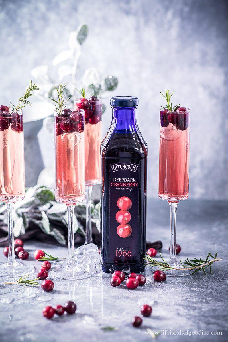 Deepdark Cranberry Sekt